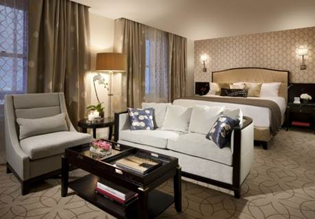 Description: Description: Rosewood Hotel Georgia's bedroom