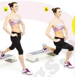 Description: Say – Bulgarian split squat
