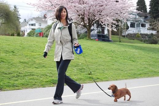 Description: practicing walking