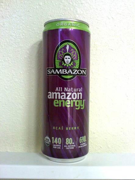 Sambazon Organic Amazon Energy