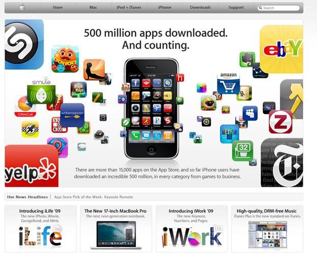 Apple.com & Apple store