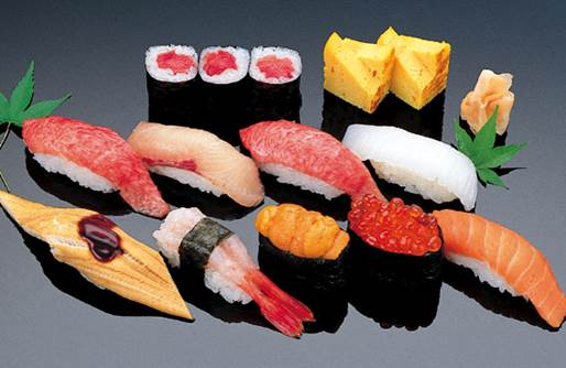 Pregnant women shouldn't eat dishes that aren't cooked through such as sushi…