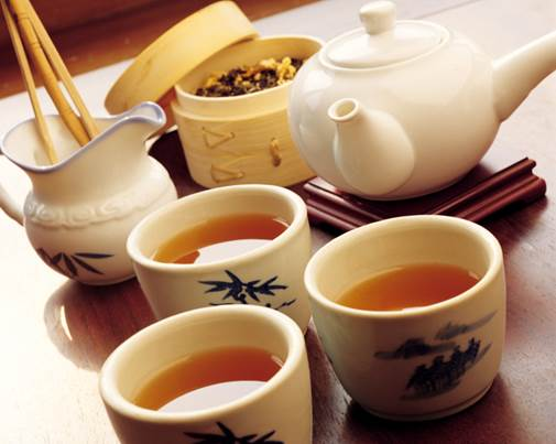 Tea can prevent office workers from radiation.