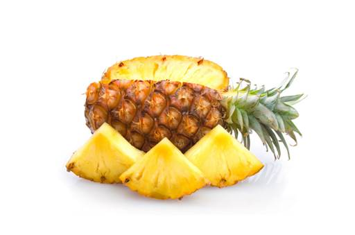 Eating pineapple when hungry will hurt the organs in the body.
