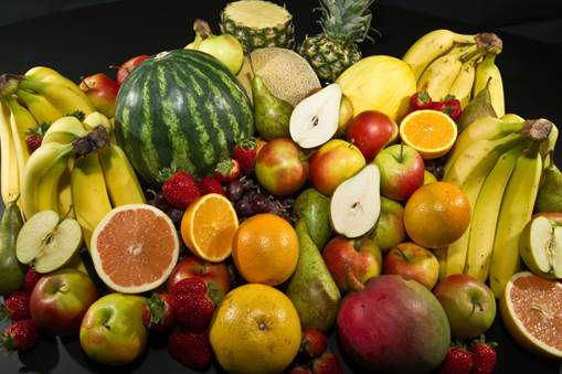 There're many fruits that help reduce stress.