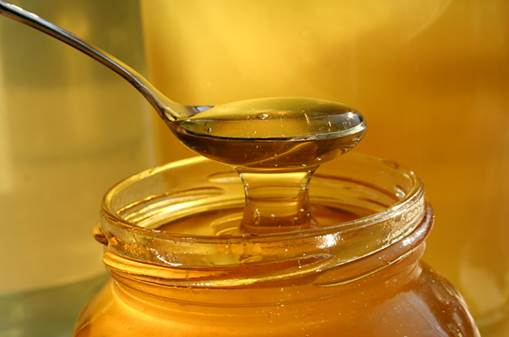 Honey can decrease the Orexin production, a neurotransmitter that prevents sleeps.