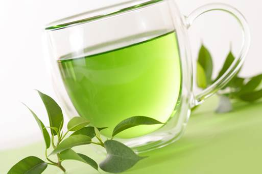 Green tea can inhibit oxidation caused by stress and inflammation.