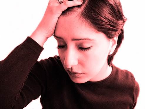 Long-term stress can make you sometimes feel tired, lose appetite and have sleeping difficulties.