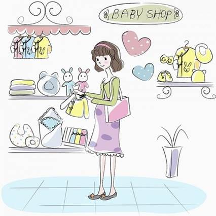 In choosing clothes for newborn babies, mothers should buy in reliable companies.