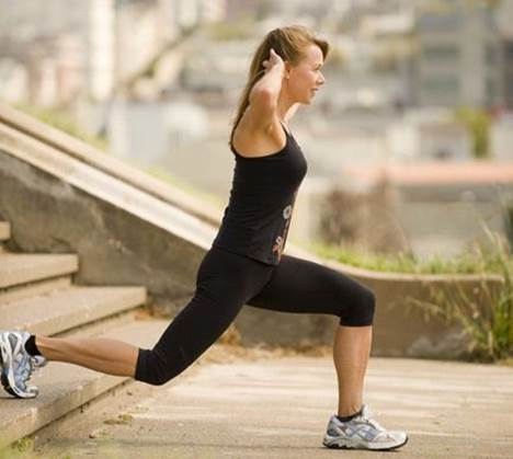 Squats may appear simple, but good technique will not only protect your knees, it will tone your bottom, legs and abs, and help you burn more calories.