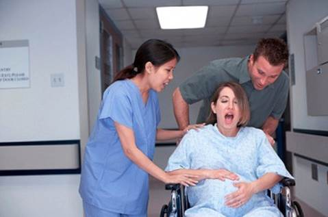 Pregnant women that break amniotic fluid prematurely need to use antibiotic immediately and they need to be intervened to take fetus out early by making surgery.