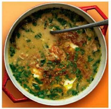 Hango' LP-Beating Persian Chicken Soup