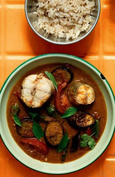Belly-Busting Malaysian Fish Stew