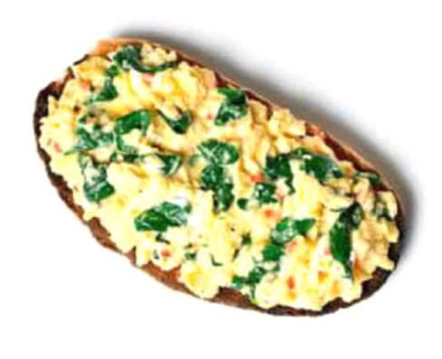 Slimline Eggs Florentine