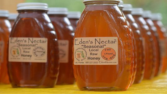 Locally produced honey is an effective cure