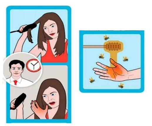 At a crucial moment, your straighteners slip and you have a hot date with a potential suitor in just 40 minutes.