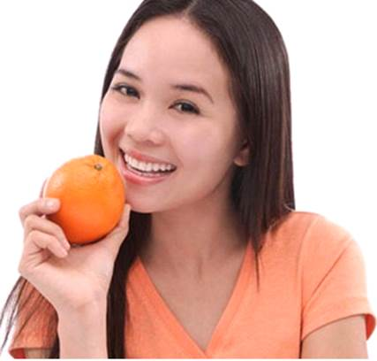 Orange peel contains a lot of flavonoid and vitamin C that can stimulate metabolism on skin.