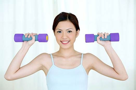 You should spend time doing exercise and change daily diet to have a suitable weight if you try to become pregnant.