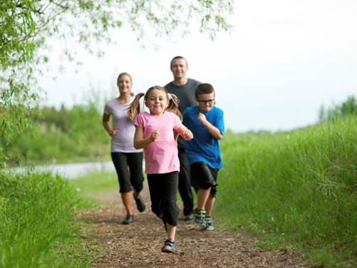 Parents should encourage children to do regulate outdoor exercises.