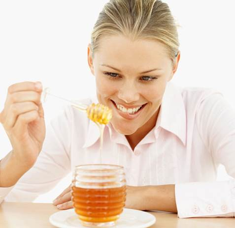 Fresh honey can be eaten right away.