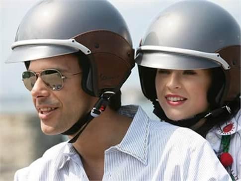 You must wear helmet when you drive motorbike.