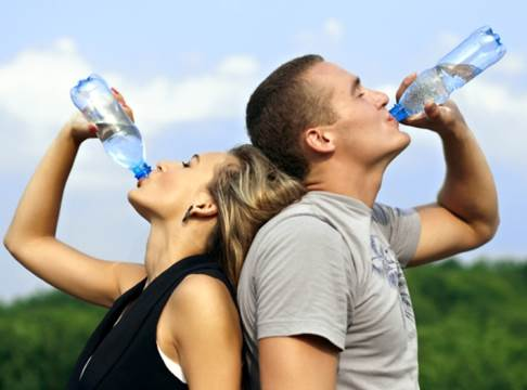 You shouldn't wait to drink water until you feel extremely thirsty.