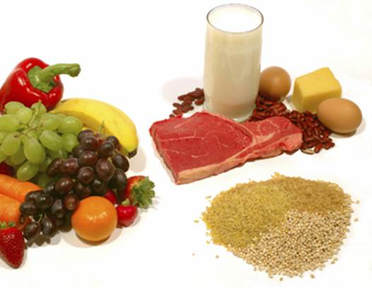 Diet is foundation of human health.