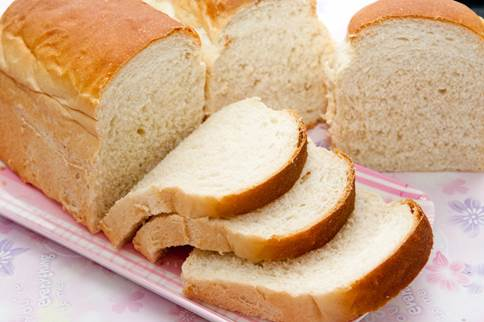 One slice of white bread can contain 230mg of sodium.
