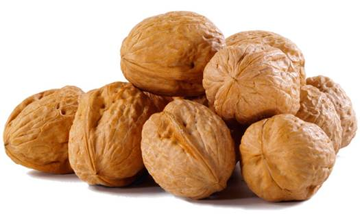 Walnut can make the amount of cholesterol in body reduce.
