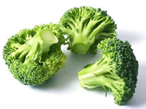 Broccoli can prevent anemia because of lacking Fe.