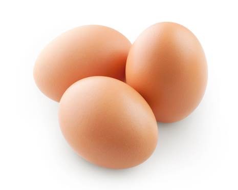 Egg is one of natural foods containing vitamin D that can help body absorb calcium.