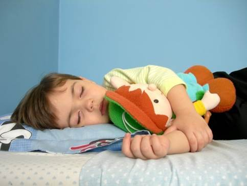 You should practice children to sleep alone.
