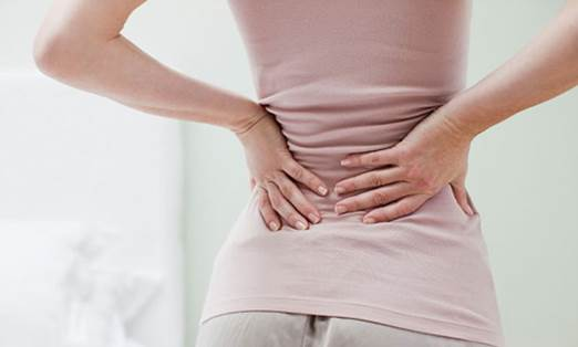 Backache can take place in all parts of back; however, pain in waist is the most popular.