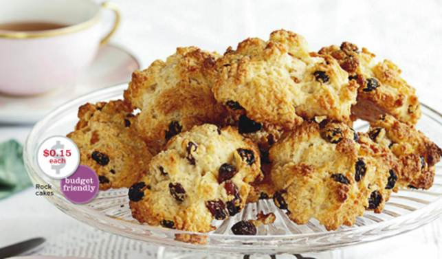 Description: Rock cakes