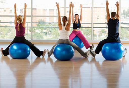 Description: Description: Yoga Balls