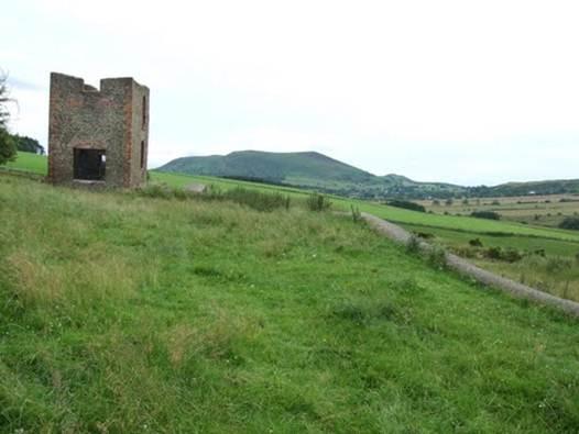 Description: The Shropshire Way also passes through Bishop's Castle