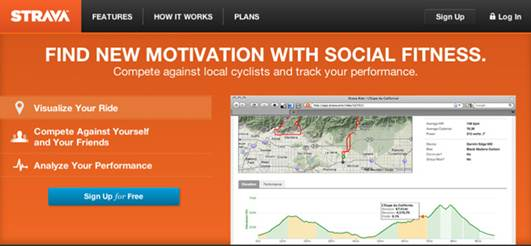 Description: Website: strava.com