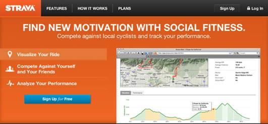 Description: Website: strava.com