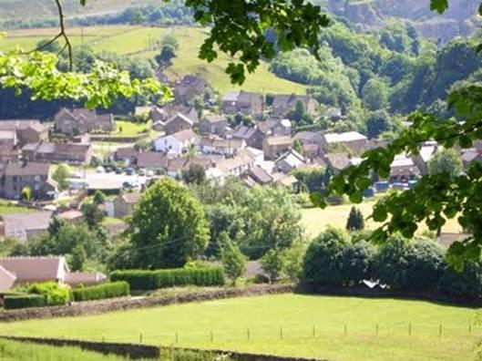 Description: Eyam, Derbyshire