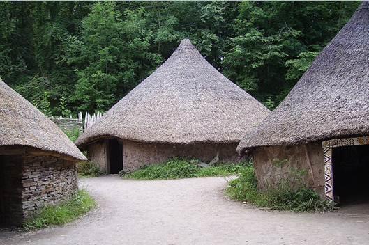 Description: Celtic villages