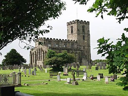 Description: Breedon-on-the-Hill, Leicestershire