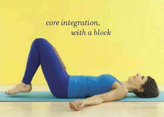 Description: Core integration with a block
