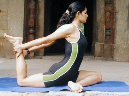 Description: combination of yoga and weight training will give you ...