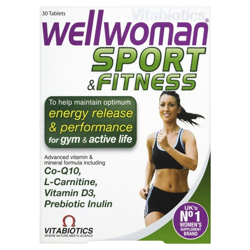 Description: Vitabiotics Wellwomen Sport & Fitness