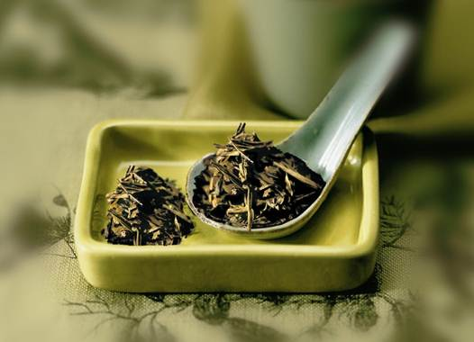 Description: Green tea also contains a substance, which is called tannin.