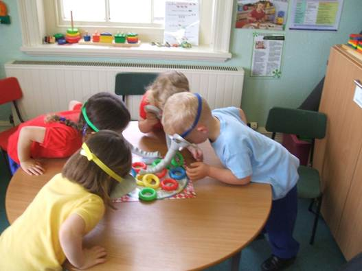 Description: Cooperative play