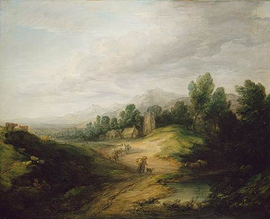 Description: Thomas Gainsborough (1727 – 1728) may be best known for the society portraits of his day, but his real inspiration lay in the English countryside.