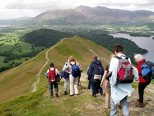 Description: Walking Cat Bells in the Lake District