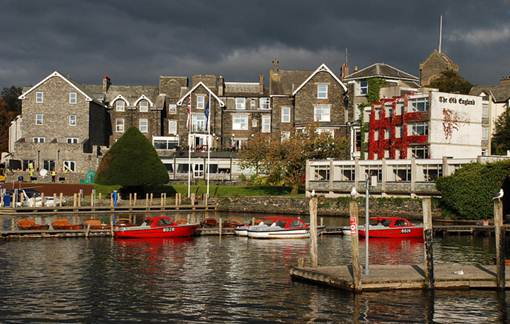 Description: Bowness-On-Windermere, English Lake District