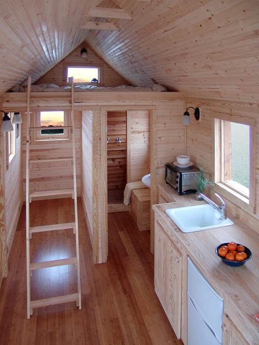 """Description: """"Tiny house"""" lifestyle"""